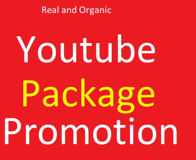 Best HQ YouTube Package Promotion Marketing Fast
