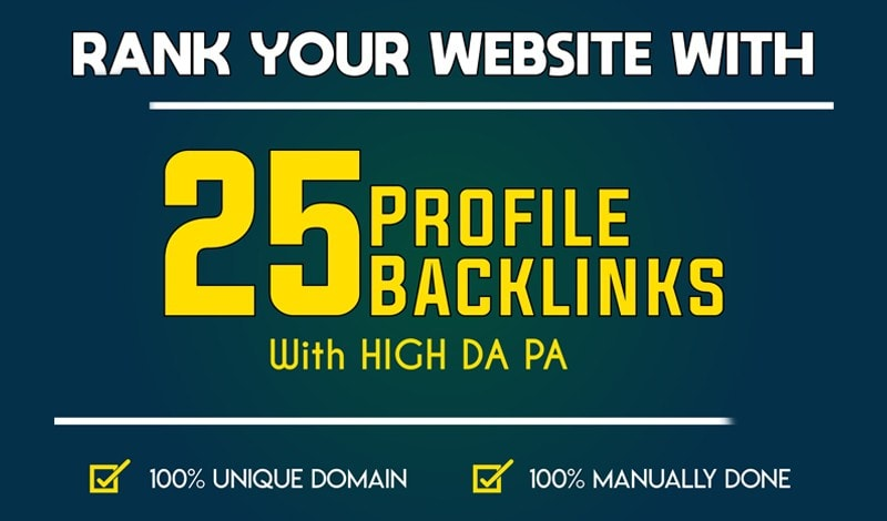 DA80+ All PR9 25 Safe High authority Backlinks