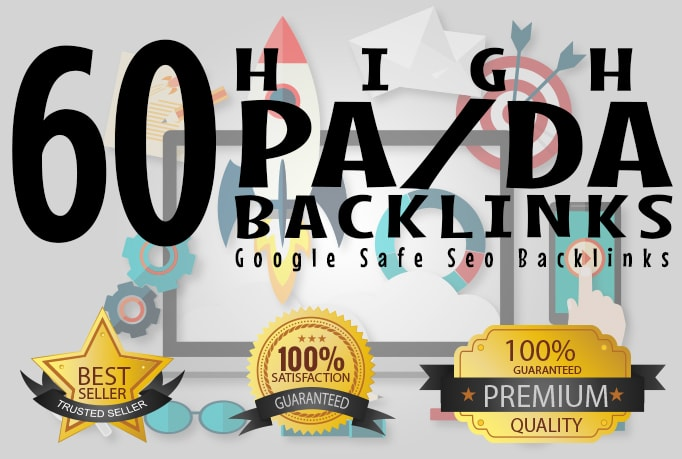 I will Boost Your Google SEO Ranking With 60+High Authority DA Backlinks