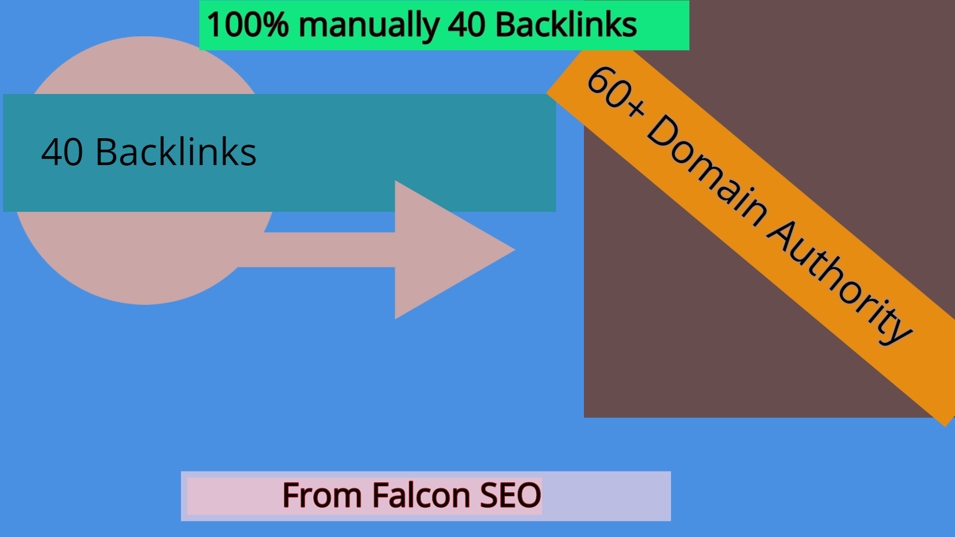 I will create DA 40 contextual backlinks for on page seo