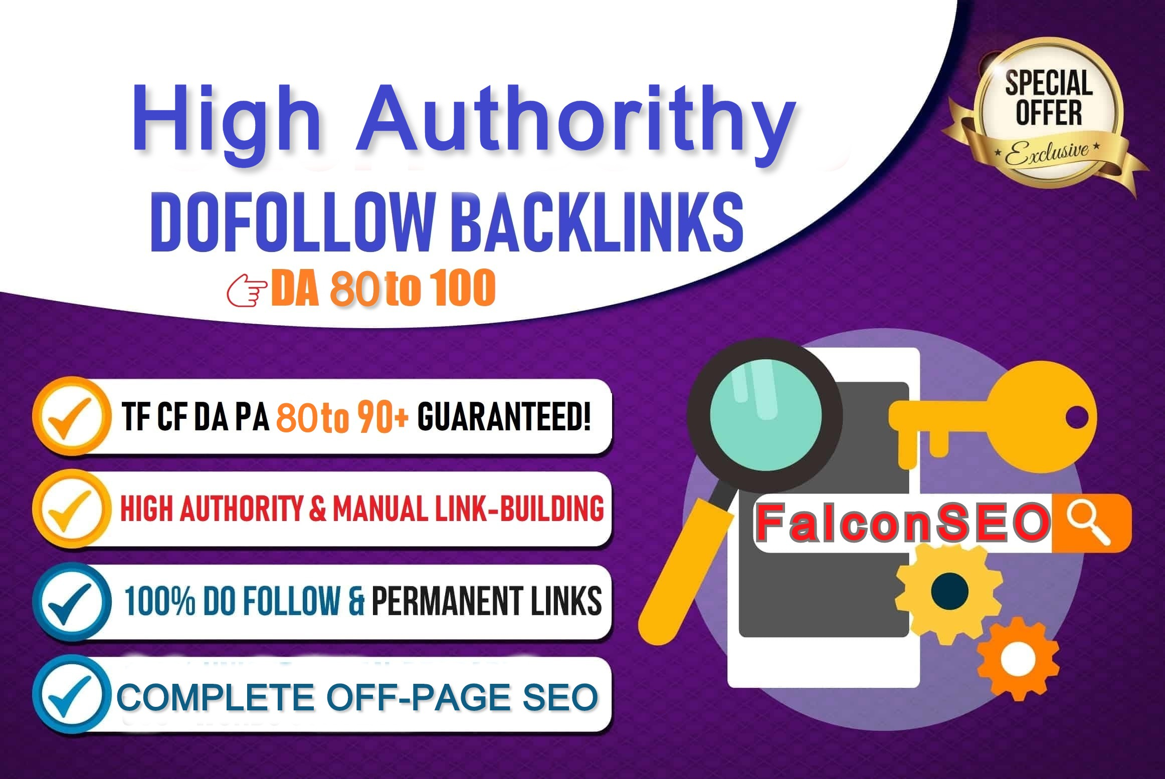 DA 80 Plus All 50 Dofollow Backlinks
