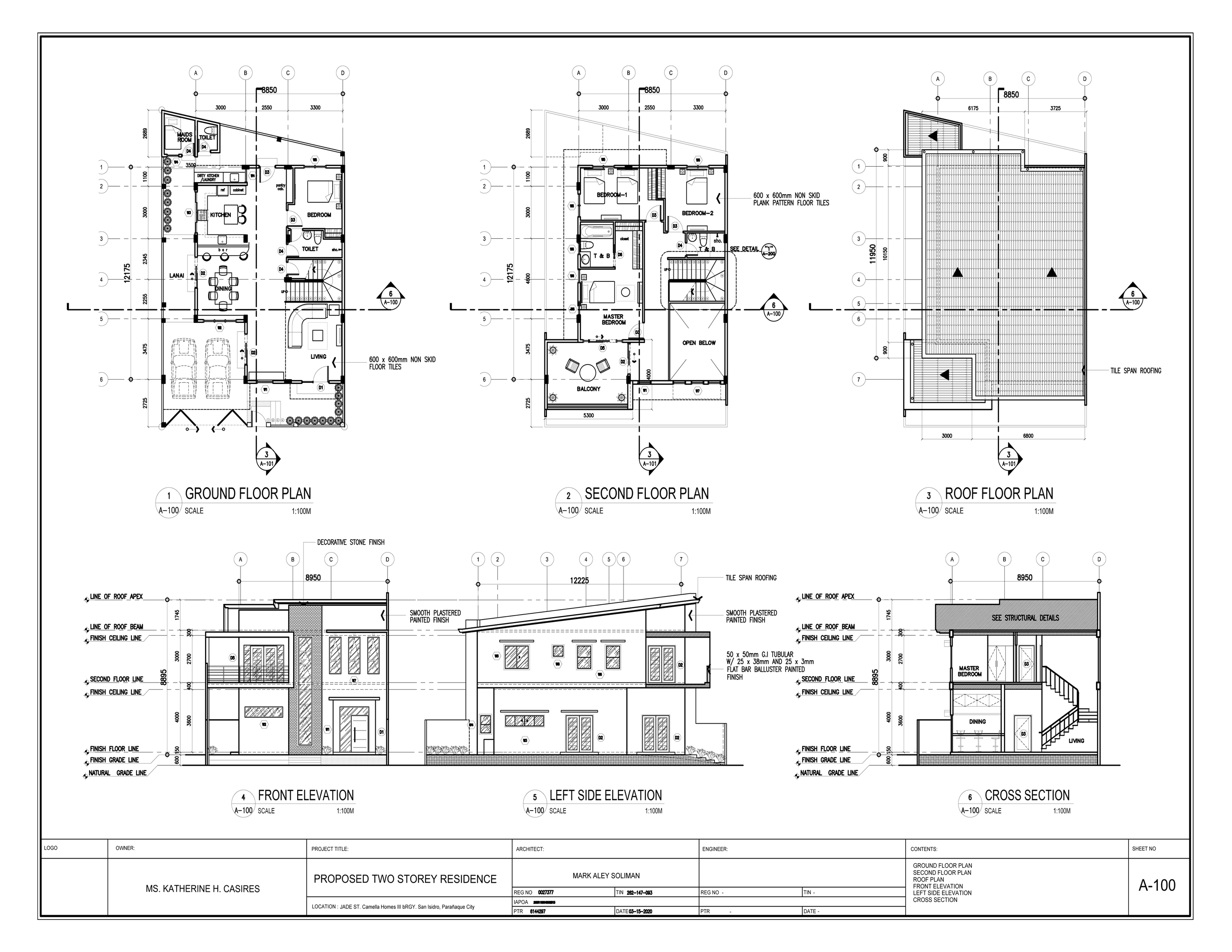 I will do Architectural CAD Drawing