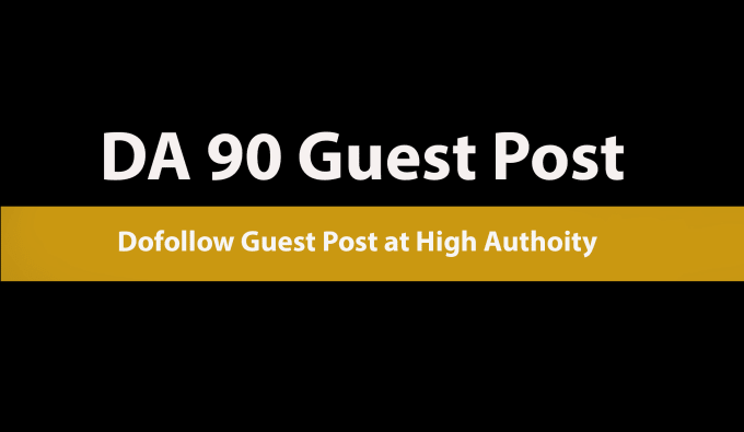 Guest post on High DA 90+ Multi-niche website