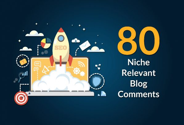 80 Manual Niche Relevant High Quality Blog Comments SEO Backlinks