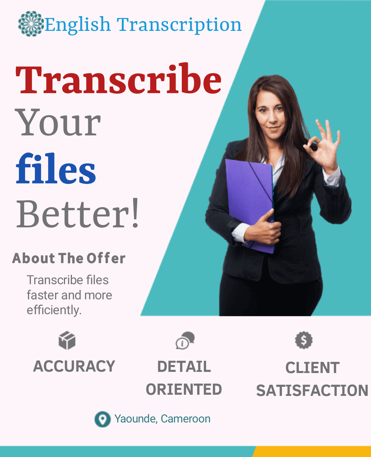 Transcribe English Video and Audio