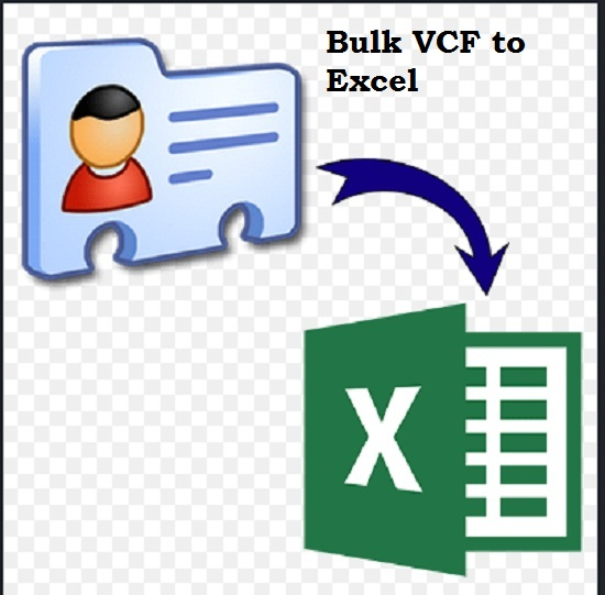 I will convert your v card,  vcf contact list to excel or csv