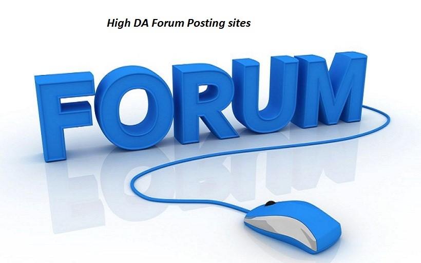 30 High Quality google ranking Forum Backlinks