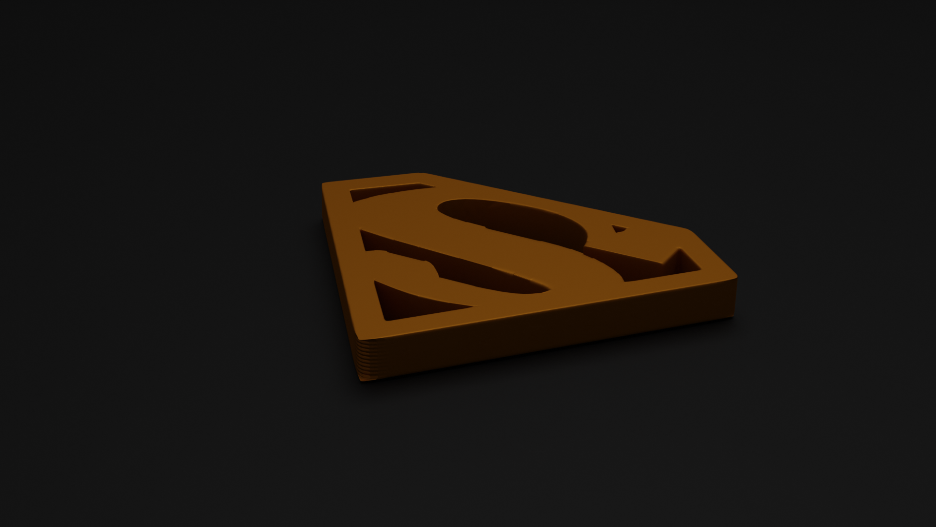 I can create the 2d logo in 3d