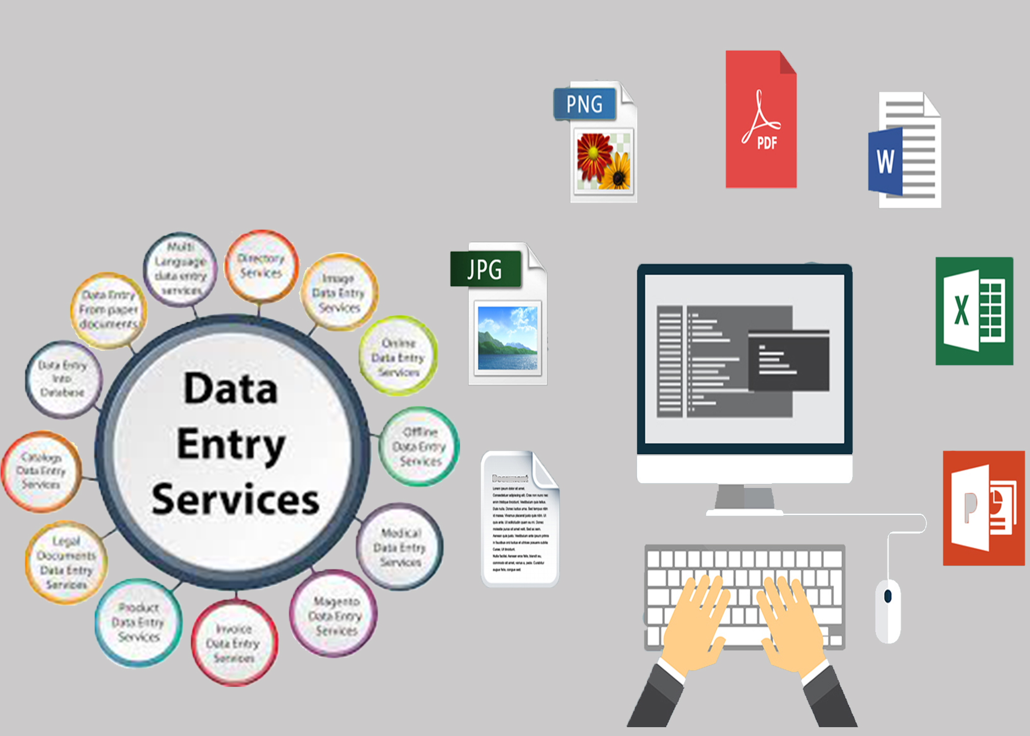 I will do any type of data entry jobs