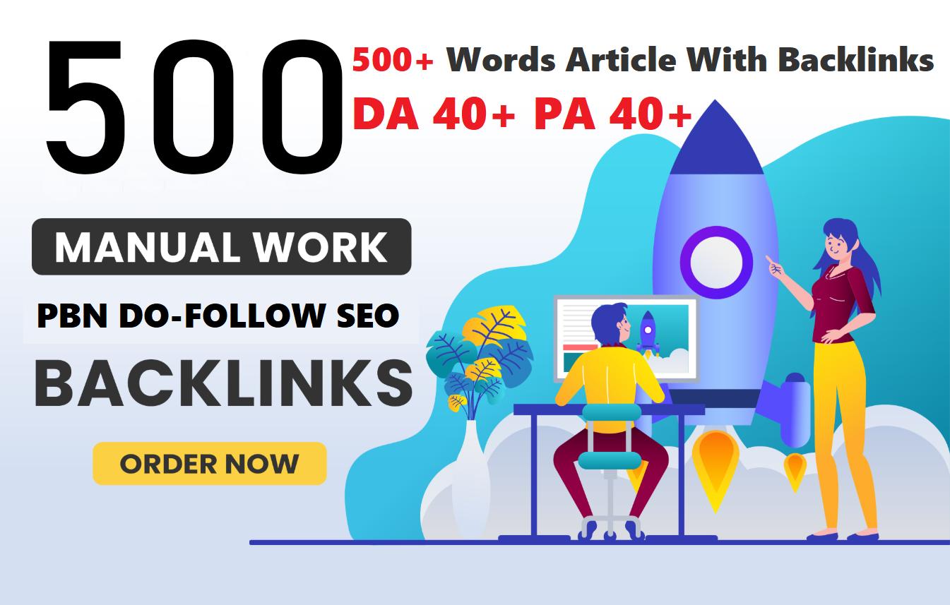 500+ unique web 2.0 pbn link All dofollow cheap price And DA 35+ PA 40+