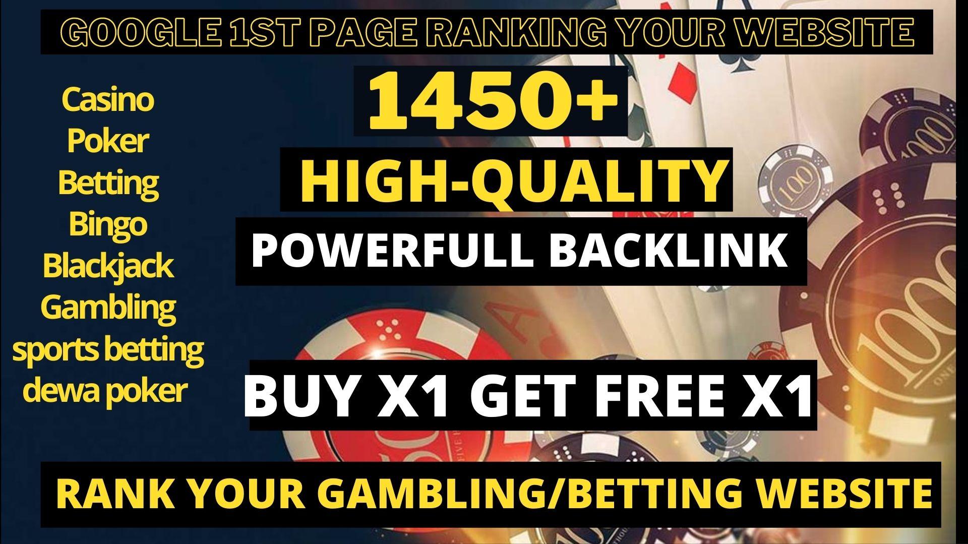 Get Super Power 1450+ Dofollow Mix High Quality Backlinks DA 40- 90+ Spam Free Site
