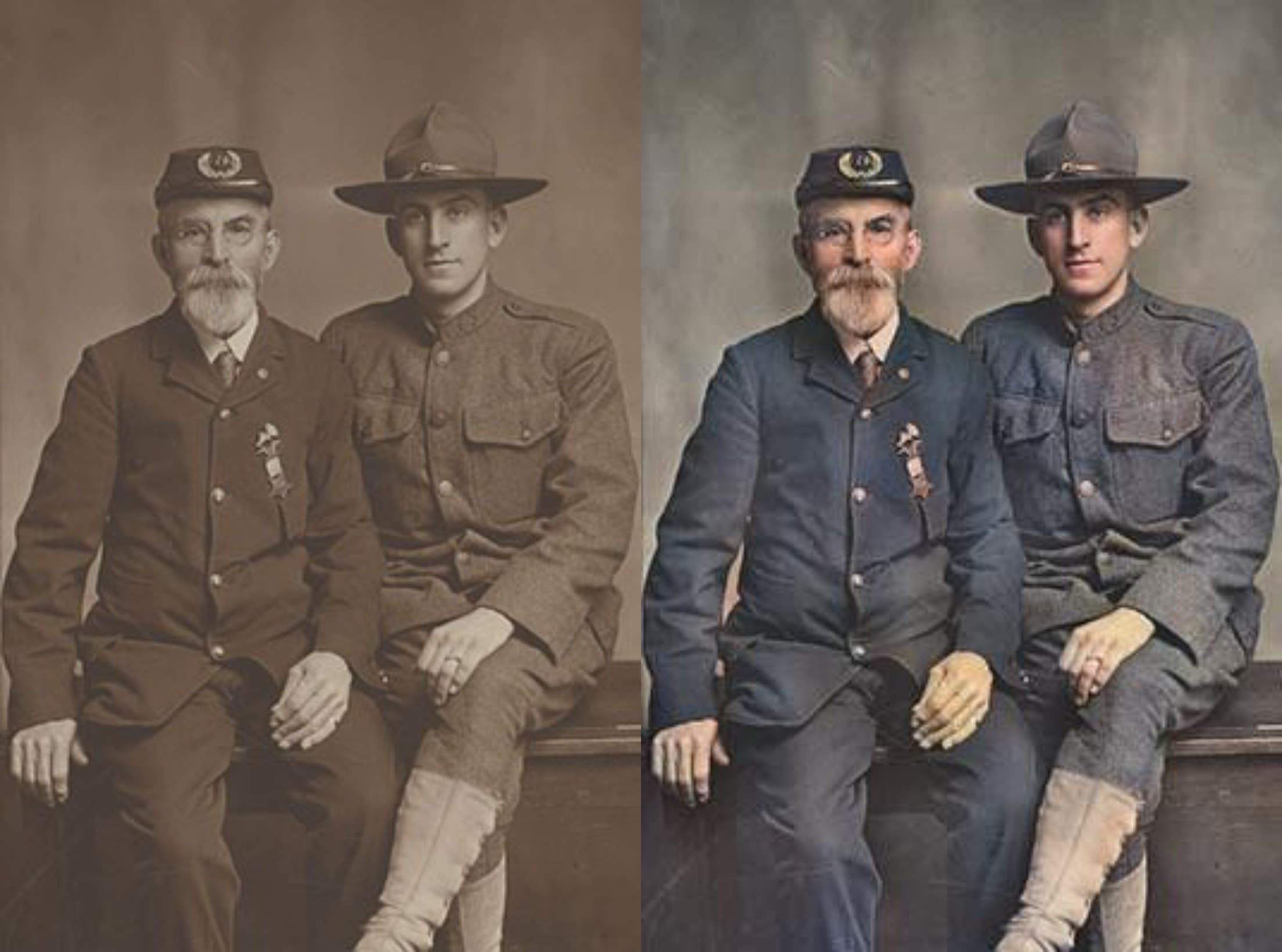 We will colorize your black and white photos