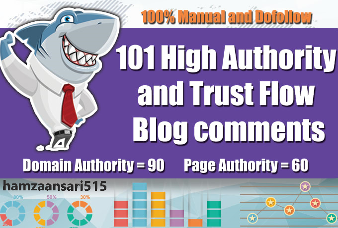 I Will Publish 20 High Domain Authority Blog Comments