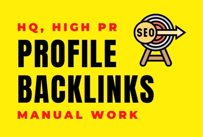 40 SEO Profile Backlinks on High DA 50 to DA 70