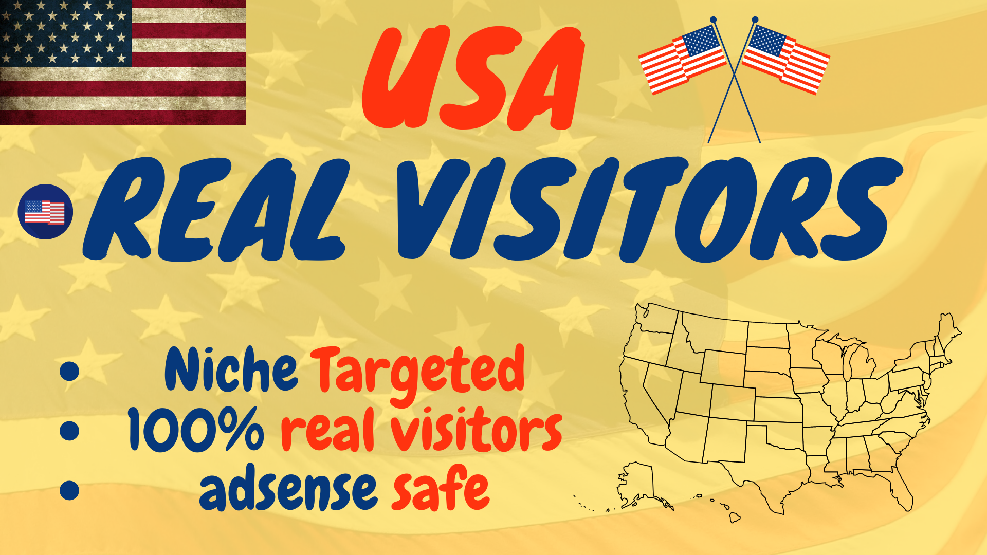 I will send USA targeted daily visitors to your website