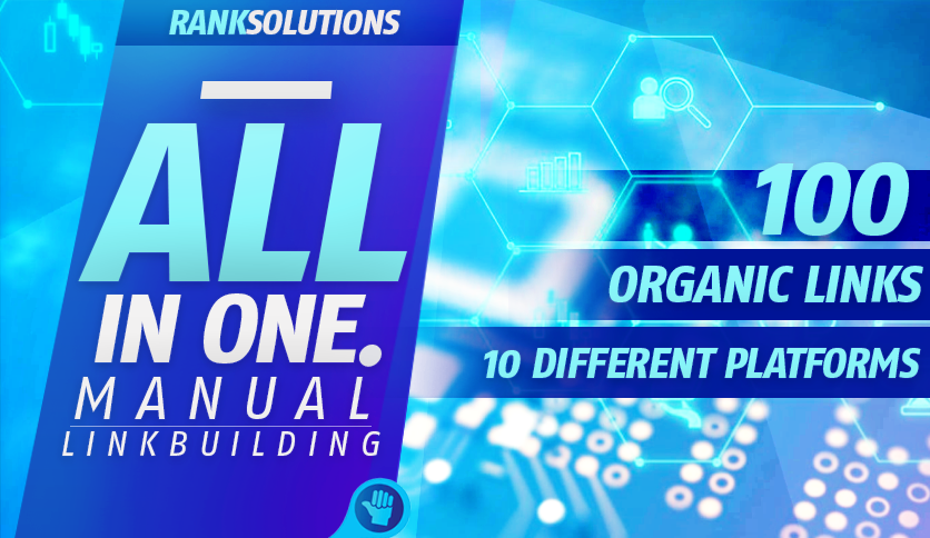 White Hat SEO-All In One Manual SEO link building package Boost Google,  Bing Ranking