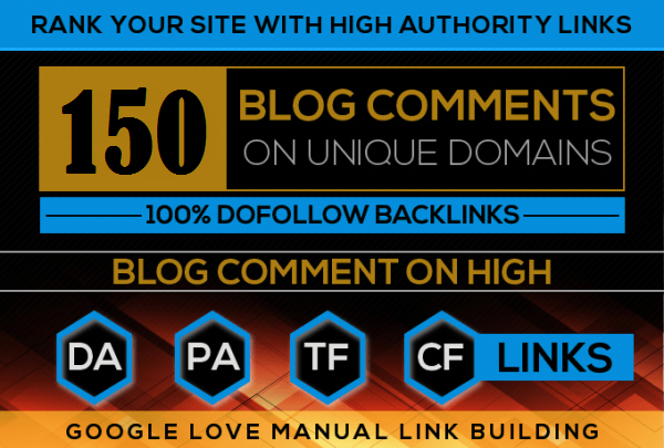 I will submit 150 high authority dofollow backlinks
