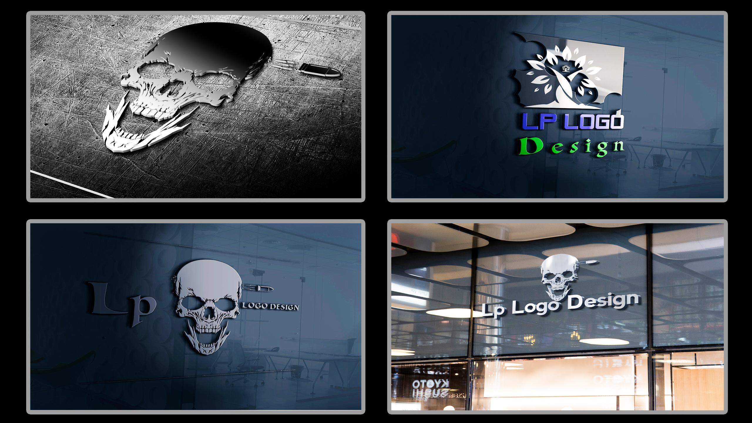 I Will Design Professional & Unique Logo Designer Business, YouTube and websites Logo Design
