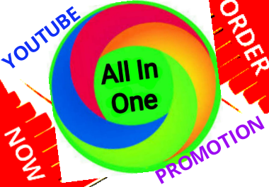 Youtube all in all promotion and all service supper fast