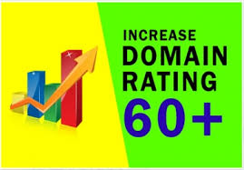 increase Domain Rating Ahrefs DR 60 Plus with moneyback guarantee