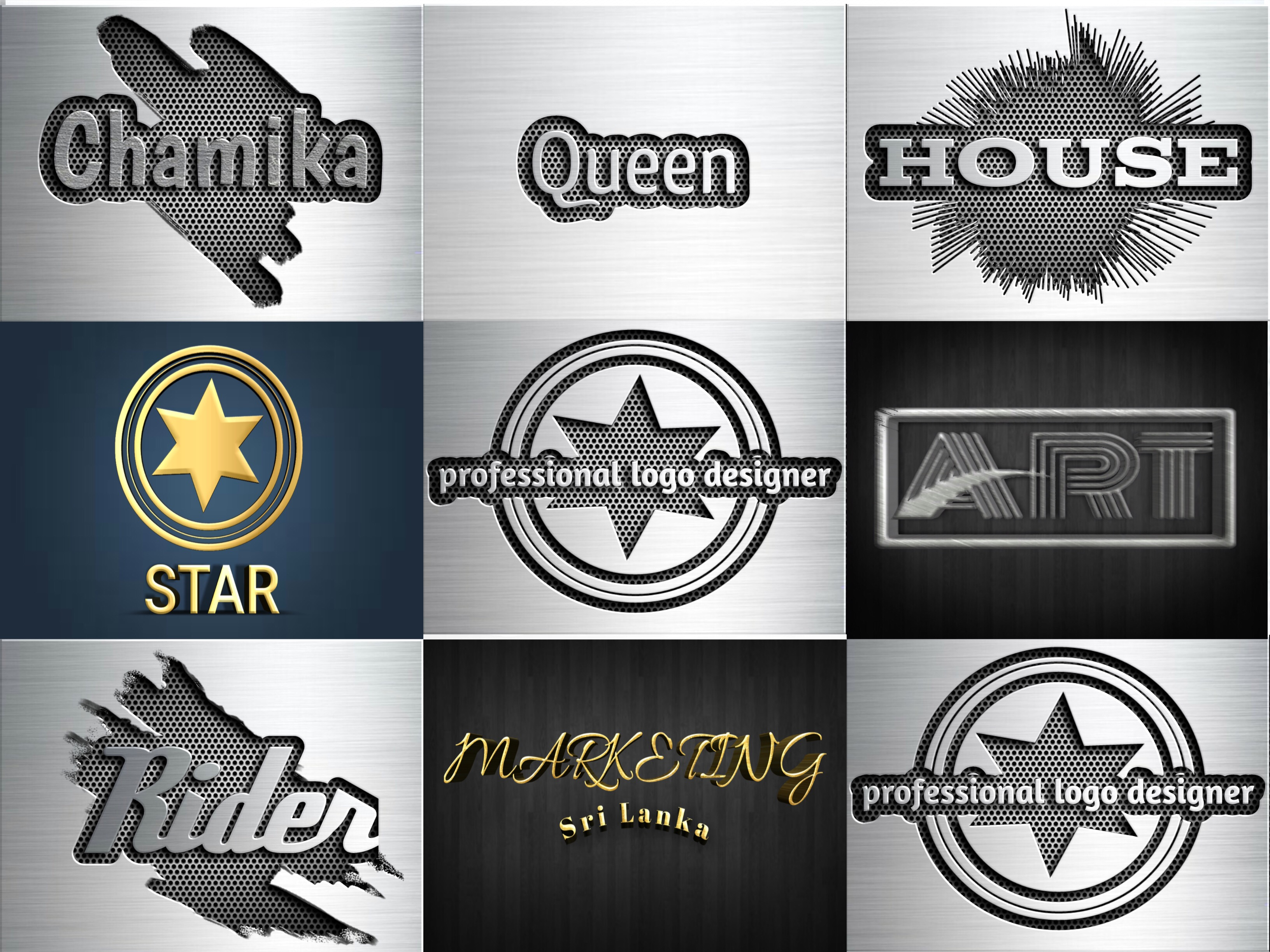 professional HQ logo design.11 years experience and Degree in Design.
