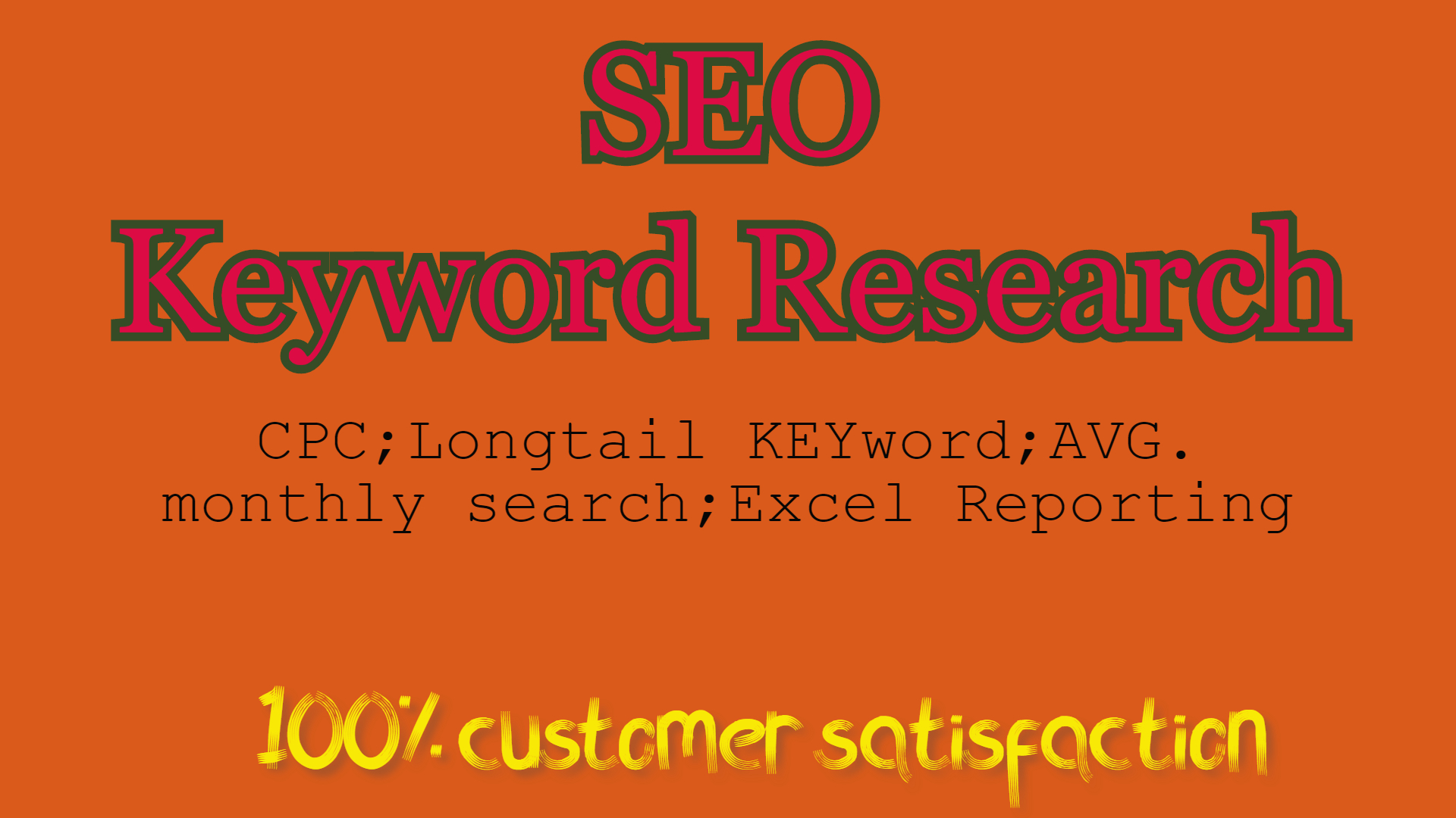 KW Competition Research & 30 white hat brainstormed Keyword will be provided to rank your site