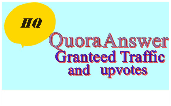 Provide Niche Relevant 10 Quora Answer for targeted traffic