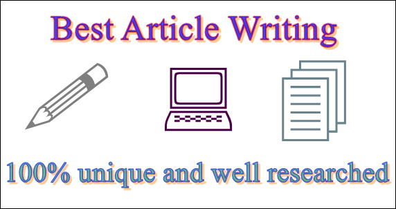 Article Writing,  Content Writing,  Blog Writing in any Topic for 1000-2000 words