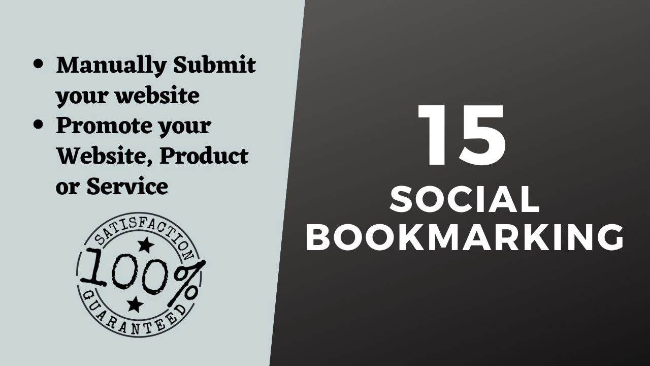 Instant 15 Social Bookmarking from top social sites