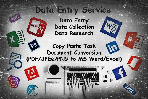Provide quality data entry and web research