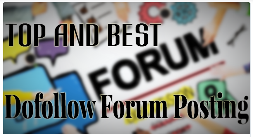 10 High Quality Forum Posting For Real Trafflc and Rank