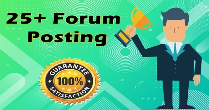 25+ High DA forum posting Backlinks-Top forum posting service in Monster Backlinks