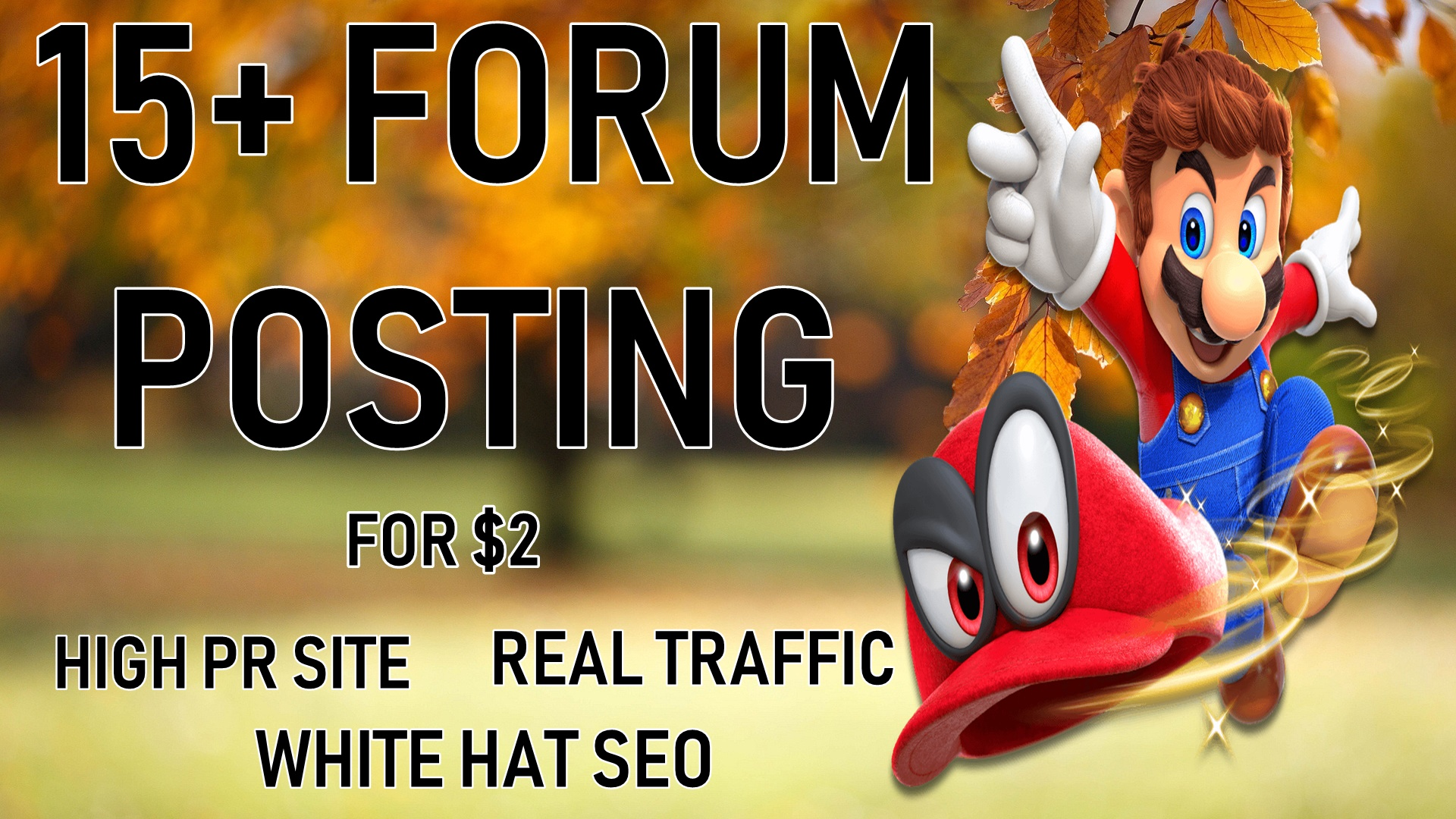 15+ High Quality Forum Posting For Real Trafflc and Rank