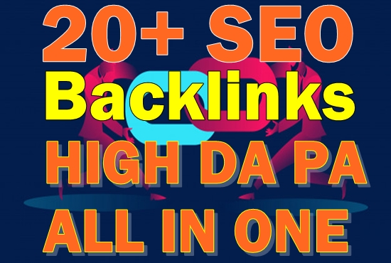 20+ High Authority All in One Mixed PR10 SEO Backlinks with DA100 sites Plus Edu Gov Links