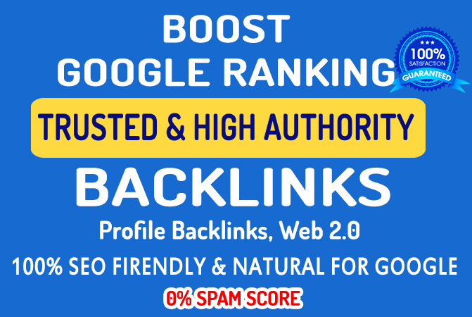 Profile Backlinks / Profile Creation - Dofollow Quality Backlinks