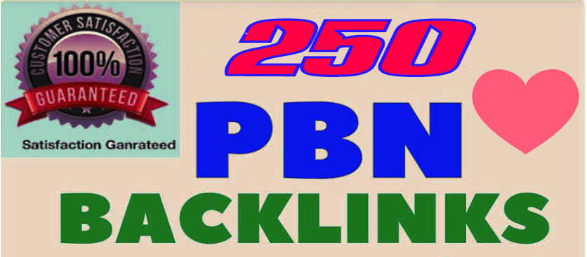 Fabricate Premium 250+ Back-connect with DA 40+ PA 40+,  DO-FOLLOW in your webpage with 250+ uncommon