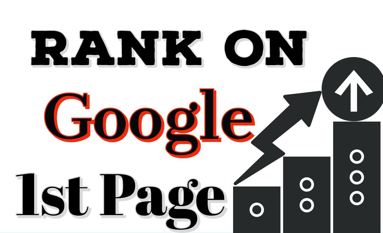 Rank on Google with 20+ linkbuilding