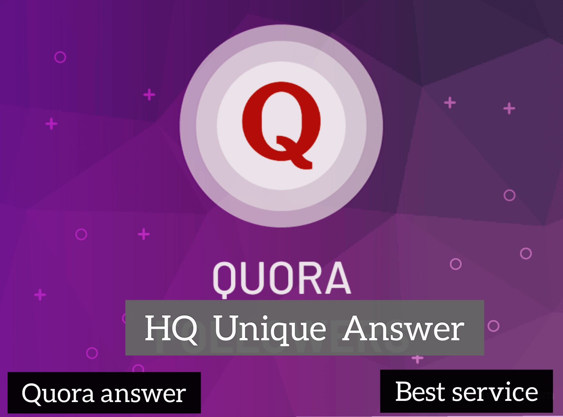 Get targeted traffic & Boost your domain for 20+ high quality Quora answer