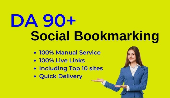 15 Social bookmarking from DA 90+ authority bookmark sites