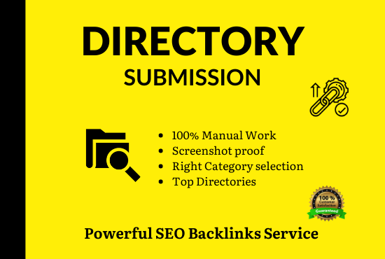 Instant approve 100 Directory Submissions with live links to boost website ranking