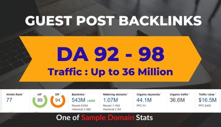 High DA Guest Post on DA 90+ Authority Guest Blog post site