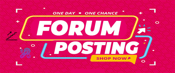 I will Do 30 High Quality Forum Posting Backlink