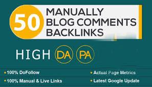 Provide 50 high da pa quality backlinks through my blog comment services