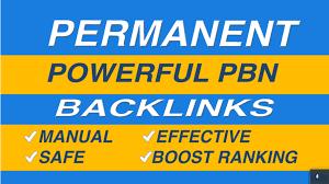 Add Create 50 permanent high da pbn backlinks