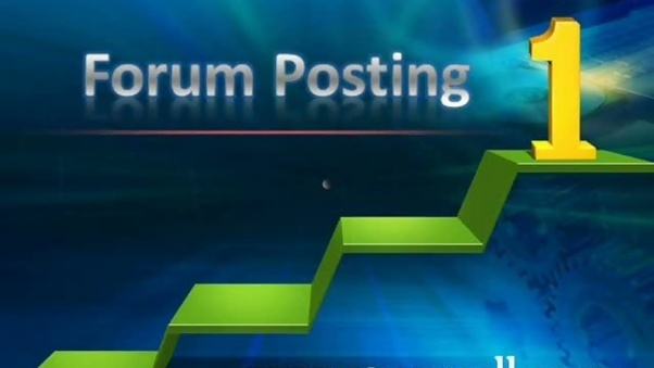 I Will create 30 High Quality Forum Posts