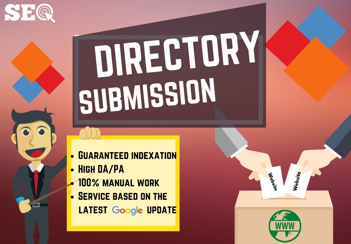 I will do manually 30 Directory Submission for your website