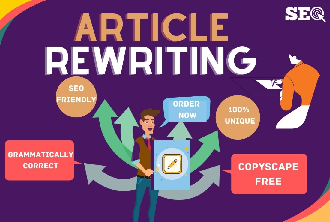 I will provide SEO Content or Article Rewriting service