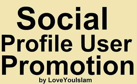 Super Social High Quality Profile Users promotion Marketing