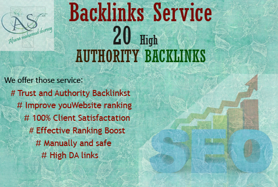 I will able to high-quality SEO, backlinks, profile backlink building