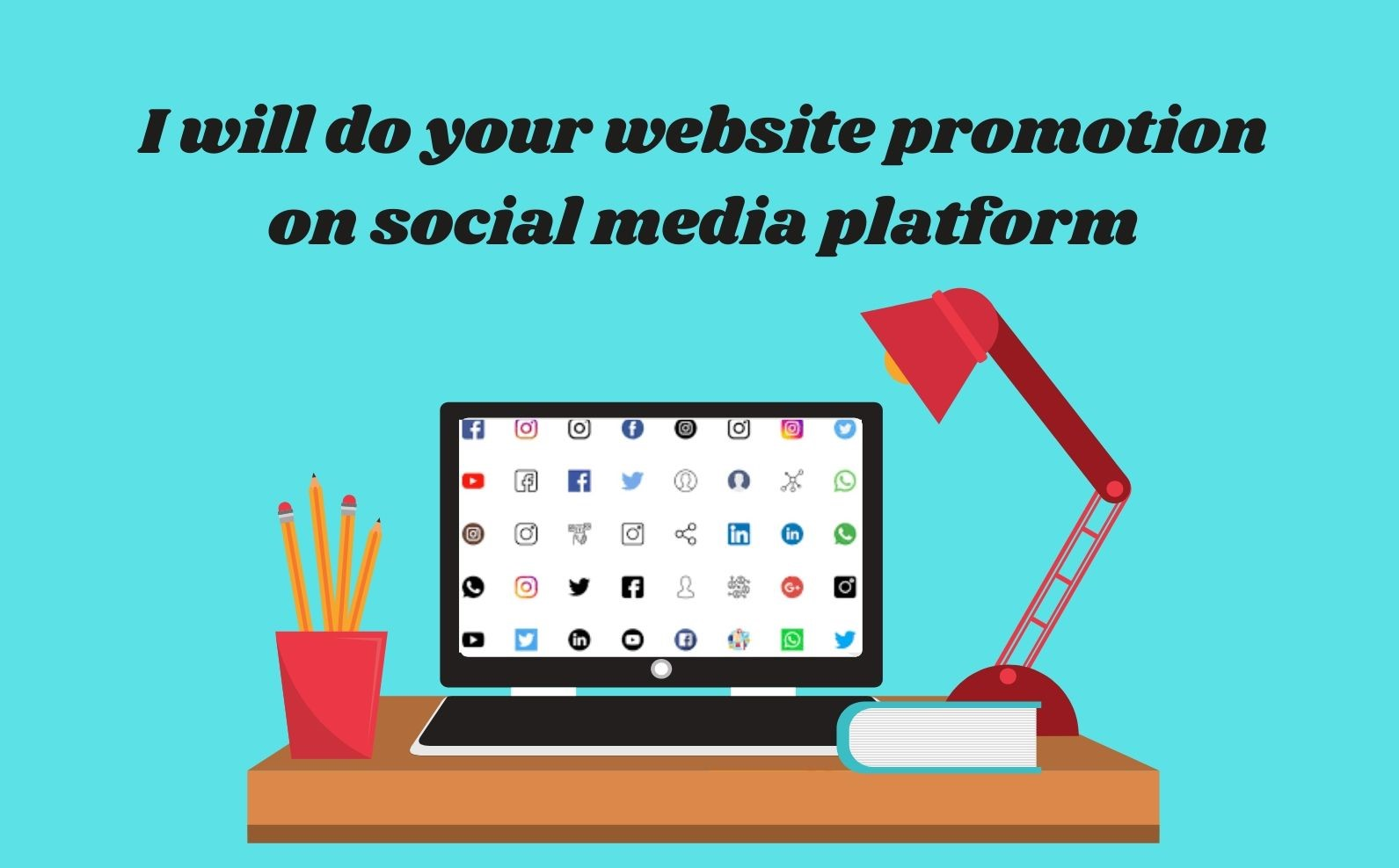 I will do website promotion for you